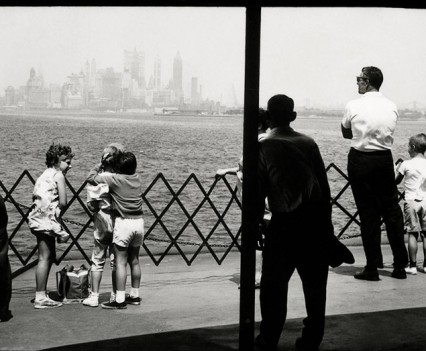 "Untitled, ""NYC from the Staten Island ferry 1961"""