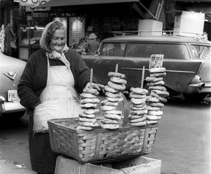 "Untitled, ""Pretzels 5 Cents, Lower East Side, 1962"