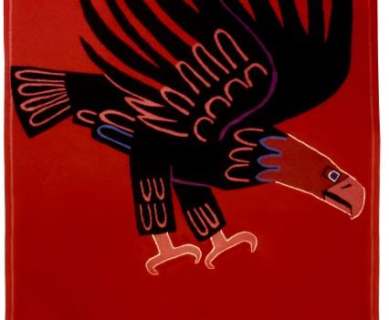 "Black Eagle, 1950  72"" x 60"""