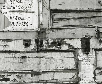 "Untitled, "" Patina Lower East Side, NYC, 1964"""