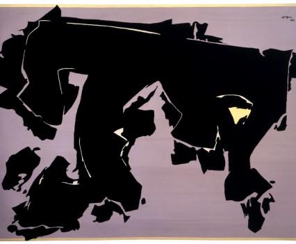 """Trojan Horse, 1974  94"""" x 129"""""""