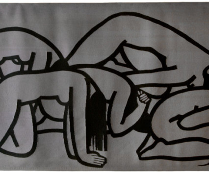 """Weeping Women on Gray Background 1963 60"""" x 108"""""""