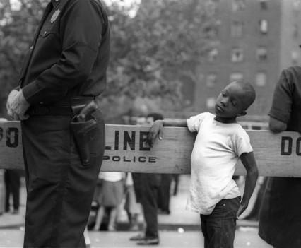 Boy at Police Line, 1966