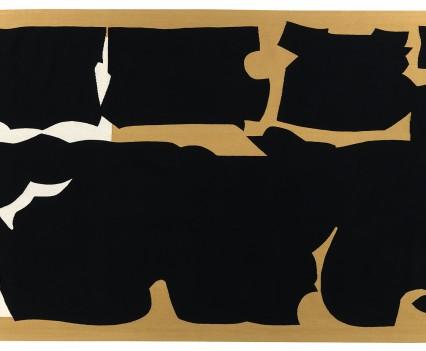 "Cohesive Multiform, 1976 90"" x 240"""
