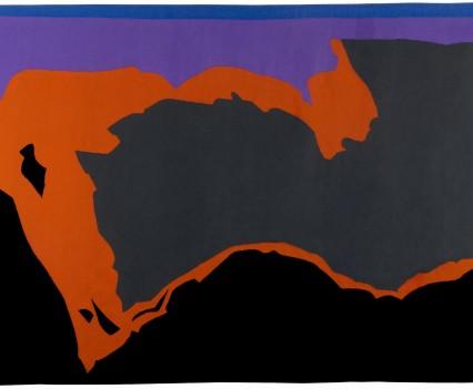 """Stormy Sky, 1976 82.5"""" x 142.5"""""""