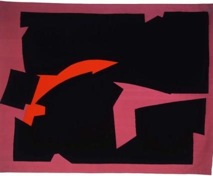"Dawn With Orange 1976 91"" x 120"""