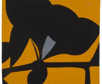 "Yellow Tantra, 1977 82"" x 88"""