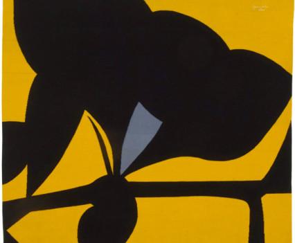 "Yellow Tantra 1977 82"" x 88"""