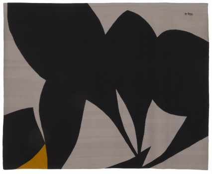 "Gray Tantra, 1977 118"" x 94.5"""