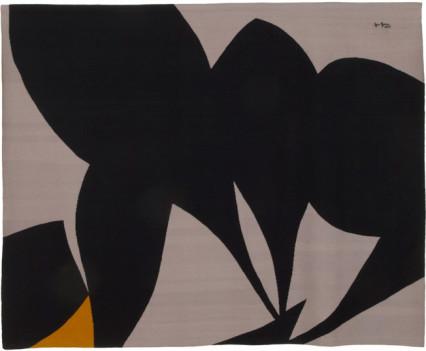 "Gray Tantra 1977 118"" x 94.5"""