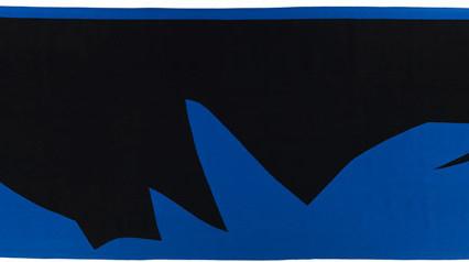 "Cobalt Mountain Designed:1977 Woven: 1980 90"" x 240"""
