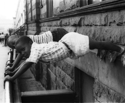"Untitled, ""Two Boys Playing Crown Heights, Brooklyn, 1963-1964"""