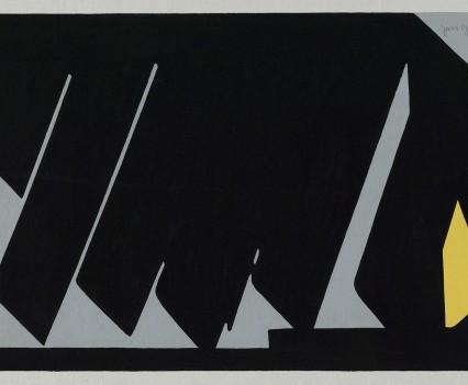 """Untitled 1972 Gouache on paper 7.5""""x11"""""""
