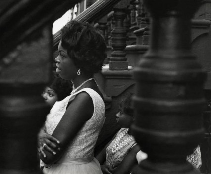 Woman Looking Through Balustrade, 1963