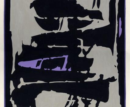 "Beyond Reveries 1977 Gouache on paper 15.25x12.5"""