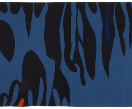 "Jungle, 1968  95"" x 141"""