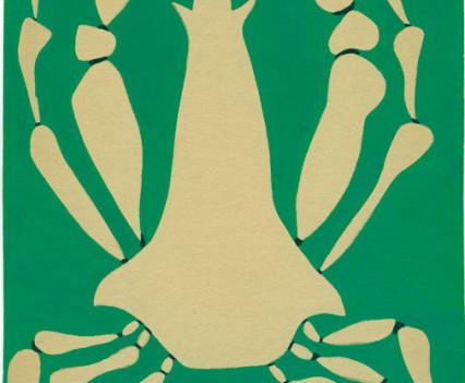 "Crab Guoache 9 - 5/8"" x 6 – 7/8"""