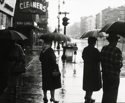 "Untitled, ""Rainy day on 14th Street  1962"""