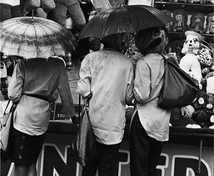 "Untitled, "" Rainy day, Coney Island 1962-63"""