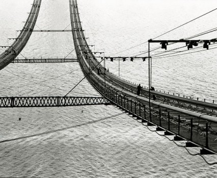 "Untitled, "" Verrazano Bridge, 1962"""