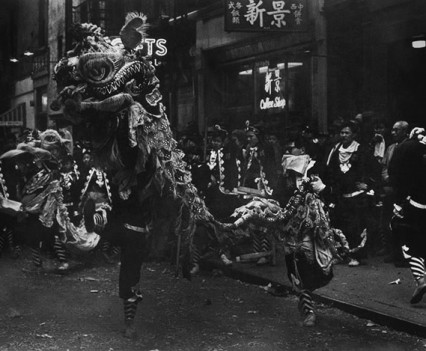 "Untitled, ""Lion dance Chinese New Year 1960s"""