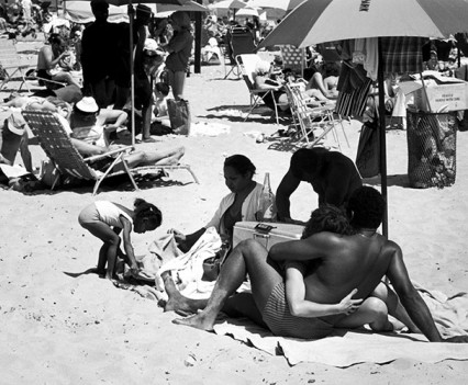 "Untitled, ""Couple, Coney Island, 1963"""