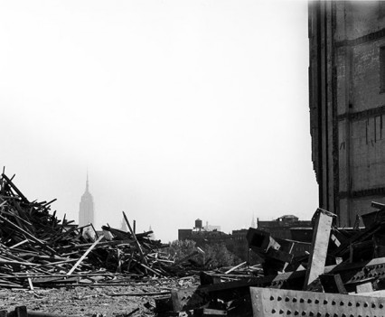 "Untitled, ""Demolition, Harlem, 1962"""
