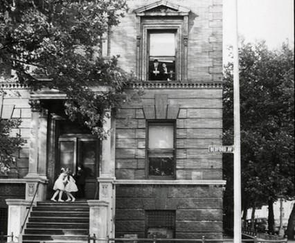 """Untitled, """" Bedford Ave, Williamsburg Brooklyn, 1963"""""""