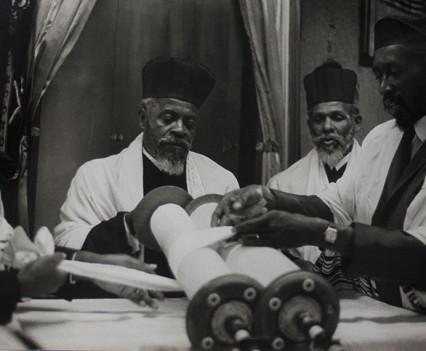 "Untitled, ""Rabbi Mathew of the Commandment Keepers Congregation, Harlem, 1962-1963"""