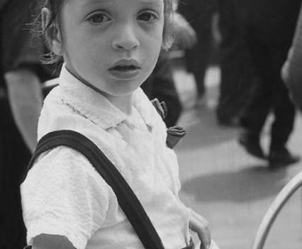"Untitled, "" Hasidic boy 1963"""