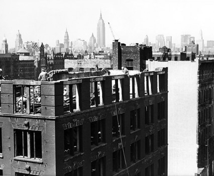 "Untitled, "" Demolition Lower East Side, 1962"""