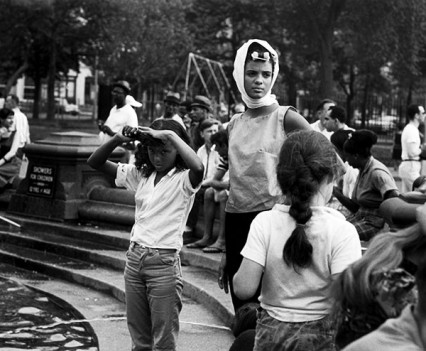 "Untitled, ""Washington Square Park Fountain, 1961"""