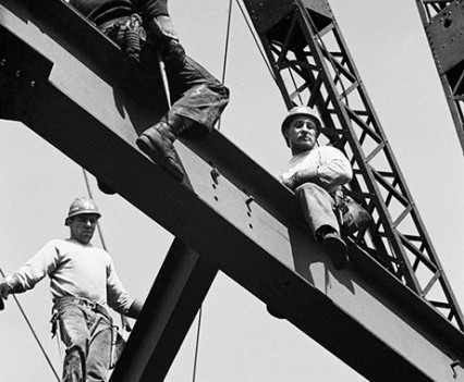 "Untitled, ""Iroquois Steel Workers, 1963"""