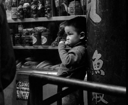 "Untitled, ""Chinatown Boy, early 1960's"""