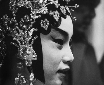 "Untitled, "" Chinese opera, NYC 1963"""