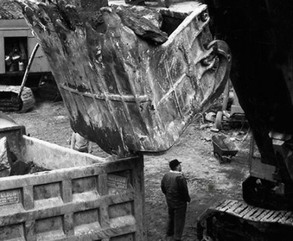 "Untitled, "" Civetta excavation 1962-63"""