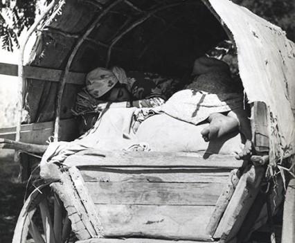 """""""Kaldarash wagon, Hungary 1961'"""