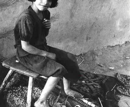 Rudari girl, Porunbacu, Romania, 1961
