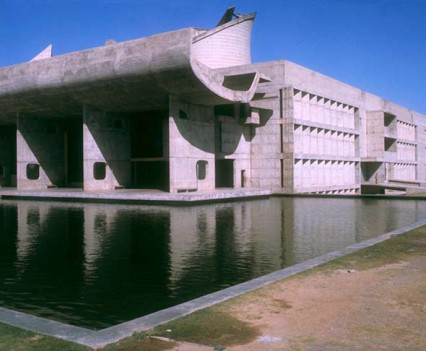 Government Buildings. Chandigarh, India. Le Corsbusier