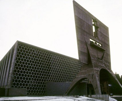 St. John's Abbey Church. Collegeville, Minnesota, USA. Breuer