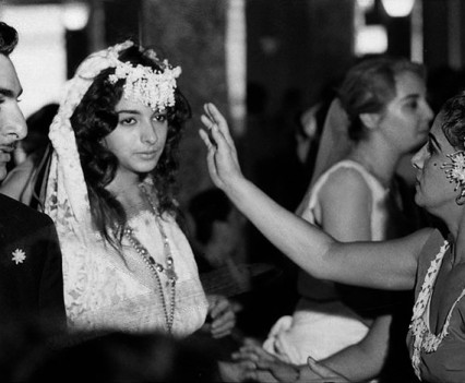 """Roma wedding , St Marks place, NYC, 1964"""