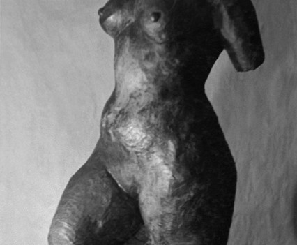 Torso 1948, Plaster and paint