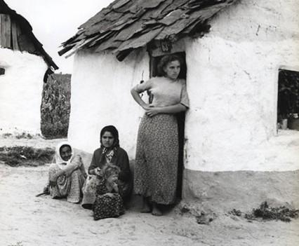 """Gypsy settlement, Yugoslavia 1961"""