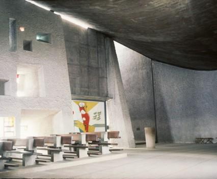 Notre Dame Du Haut. Ronchamp, France. Le Corbusier