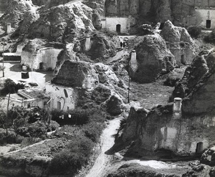 """Cave dwellings, Guadix, Spain 1971"""