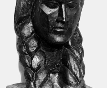 Marianne Bust 1949, Plaster and paint