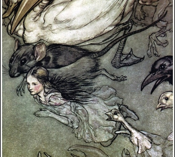 Artistic Influences: Rackham's Alice in Wonderland